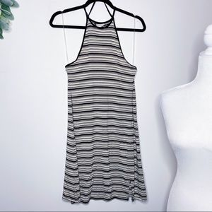 NWT AEO Striped High Neck Dress